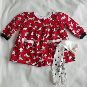 Vintage 90's Disney 101 Dalmatians dress